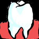Prześliczne zdrowe zęby również godny podziwu prześliczny uśmiech to powód do zadowolenia.